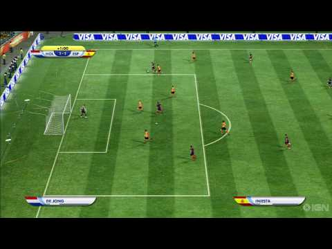 World Cup 2010 Finals  Netherlands vs Spain Sim