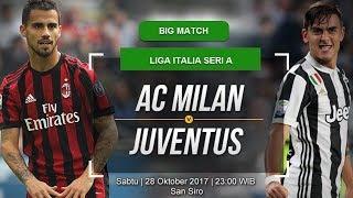 PREDIKSI SKOR AC MILAN VS JUVENTUS 28 OKTOBER 2017