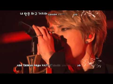 Kim Jaejoong 김재중 - Just Another Girl ('WWW' Asia Tour Concert) [eng + rom + hangul + karaoke sub]