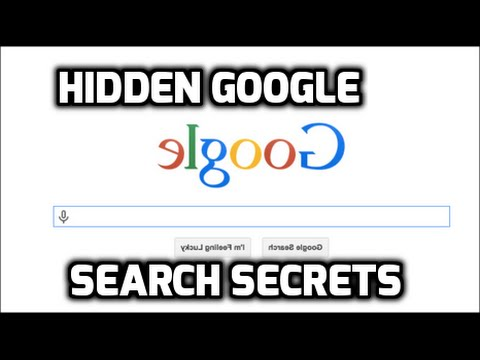 Hidden Google Search Tricks, Secrets and Easter Eggs