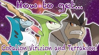 How to get Cobalion, Terrakion and Virizion! (found Shiny Aura Mewtwo) - Roblox Project Pokemon