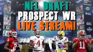 NFL Top 2020 Draft Prospect WR Live Stream!