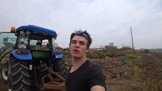 Tarım Vlog #31    Gübre Yığını Yola Taşacak!! Sıyırgı ile ittiriyoruz