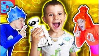 Фиксики Робот Пародия Didika Tv Веселые Приключения Счастливые Детки