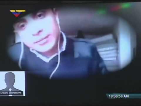 Ministro Rodríguez Torres muestra cuarto video de Lorent Gómez Saleh