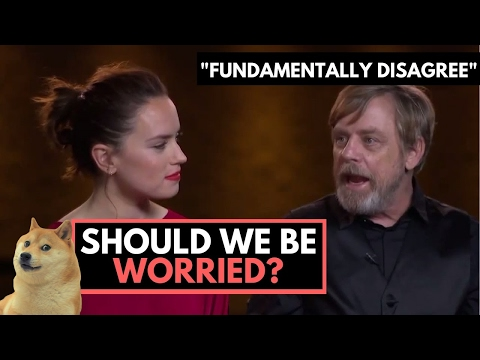 """Should Star Wars Fans Worry? Mark Hamill """"Fundamentally Disagrees"""" with Luke's Story in Episode 8"""
