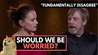 "Should Star Wars Fans Worry? Mark Hamill ""Fundamentally Disagrees"" with Luke's Story in Episode 8"