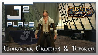 Pirates Of The Burning Sea Campaign Gameplay - Character Creation & Tutorial - Part 1