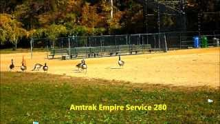 Amtrak Empire Service 280 at the Baseball Fields