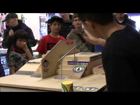 CALSTREETS Fingerjam 2015 Fingerboard Contest