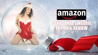 Amazon Holiday Sexy Santa Lingerie Review 2019