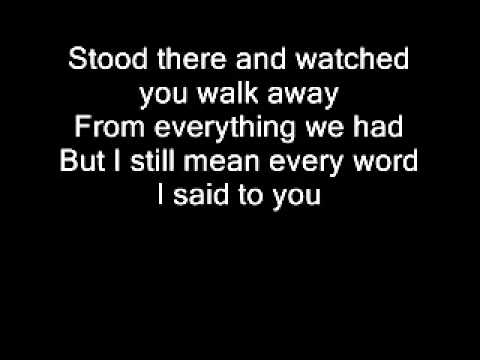 Taylor Swift-Haunted lyrics