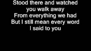 Taylor Swift Haunted Lyrics Youtube