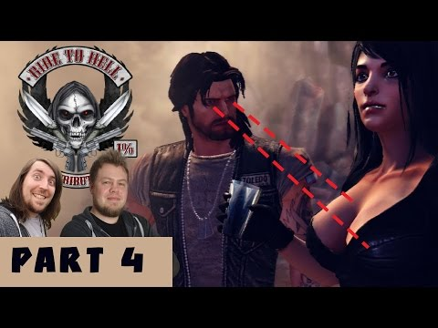 Ride to Hell Retribution PART 4 - Best beard in a video game... EVER!