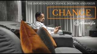 Gambar cover The importance of Change, Decision and Focus!!