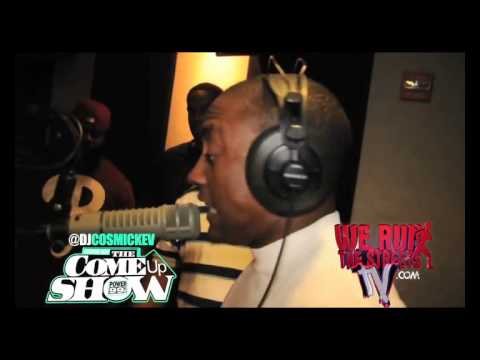 Cassidy Grinding Freestyle  on Cosmic Kev Come up show 2011