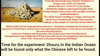 MH370,Nikola Tesla,Experiment Philadelphia,The Indian Ocean ...predictions by Clairvoyant Staikova