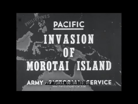 WWII NEWSREEL 1944 MOROTAI, B-29s in CBI, ADVANCES IN EUROPE TO SIEGFRIED LINE 73832