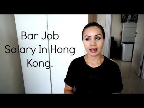 Bar Job Salary In Hong KONG.