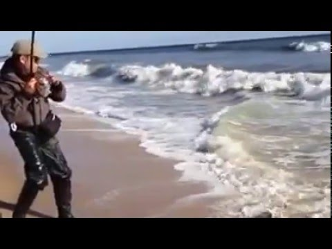 Striped bass fishing in long island new york youtube for Long island surf fishing report