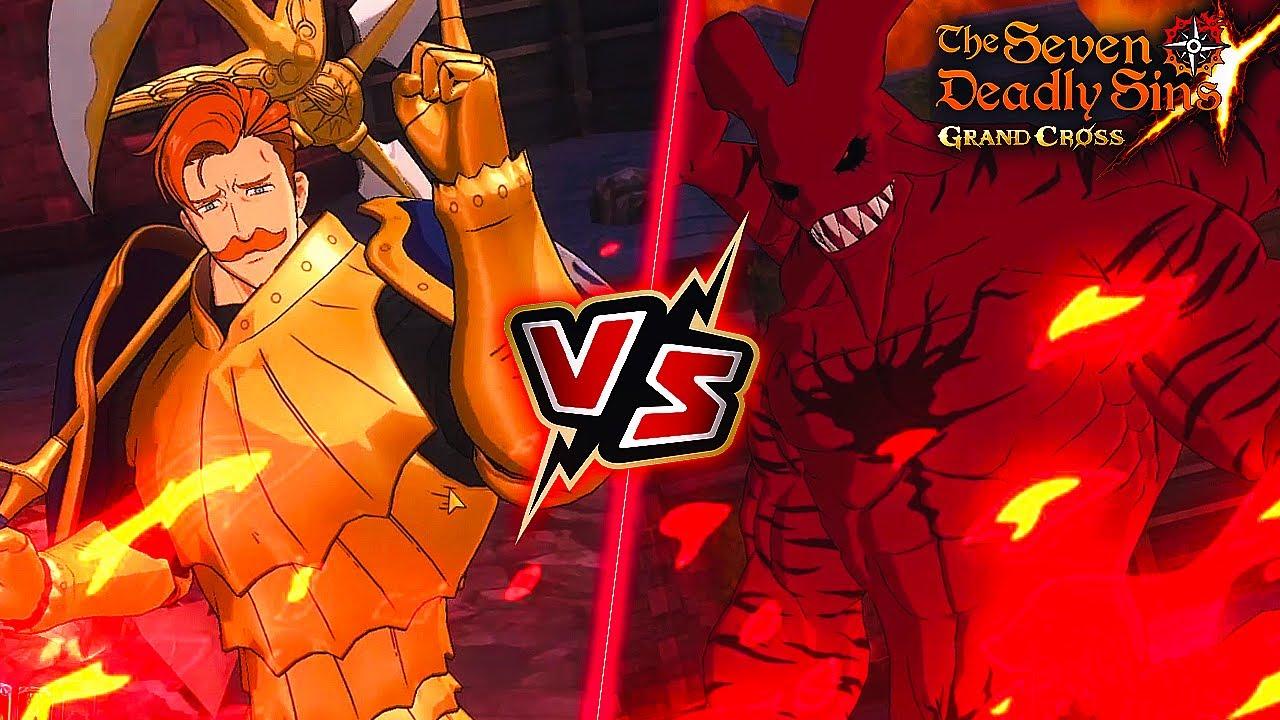 RAID BOSS KILLER COMING! RED ESCANOR VS HELL CRIMSON RAID (HOWLEX) | Seven Deadly Sins: Grand Cross
