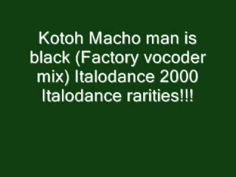 Download Kotoh   Macho man is black Italodance 2000