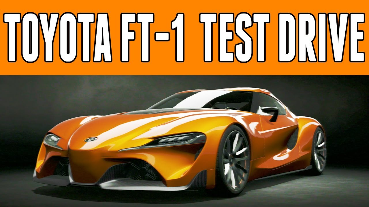 gran turismo 6 | toyota ft-1 | test drive & review | the next