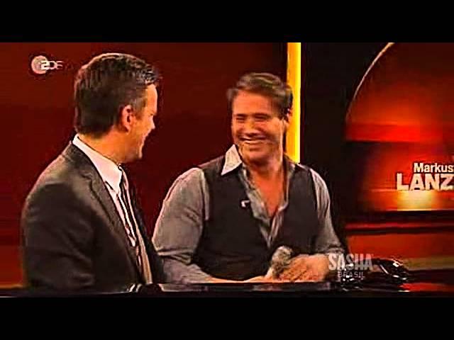 SASHA® on Markus Lanz Show