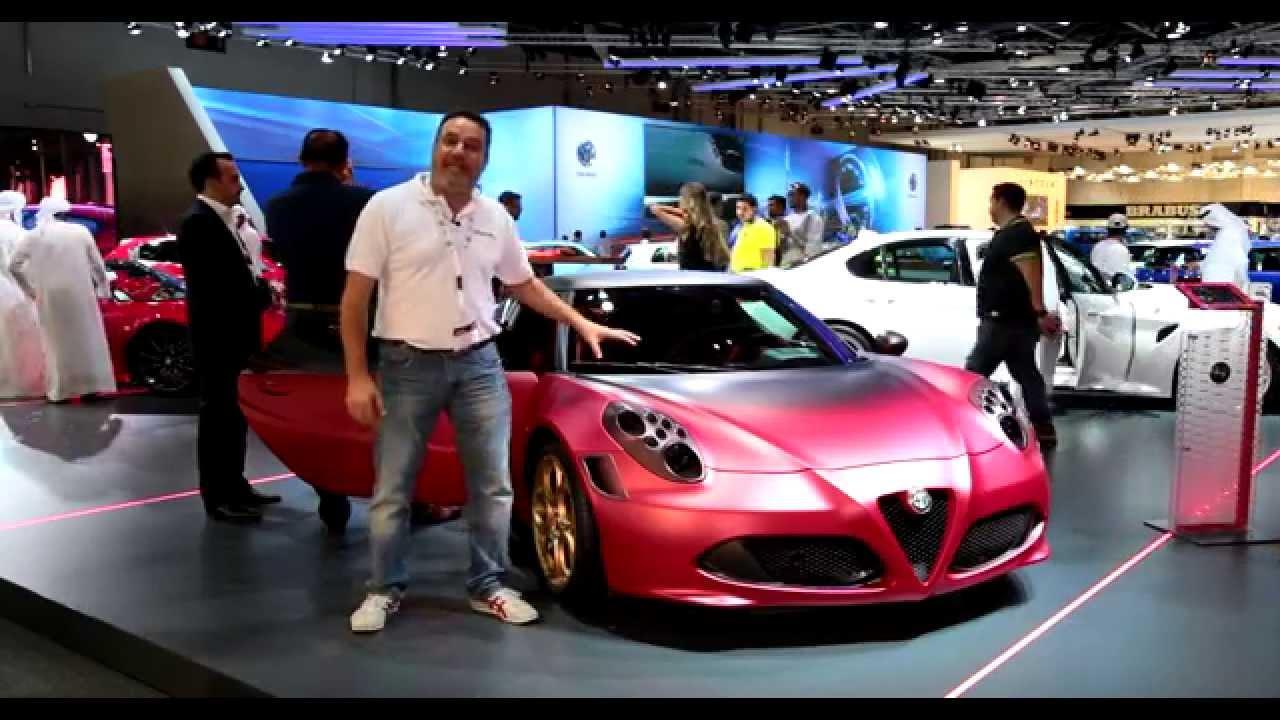 جولة سريعة داخل معرض دبي الدولي للسيارات 2015 الجزء الأول