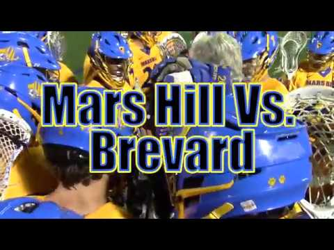 Mars Hill Men's Lacrosse At Brevard College Highlights