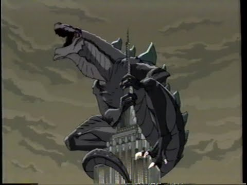 Godzilla The Series 1998 Teaser Vhs Capture Youtube