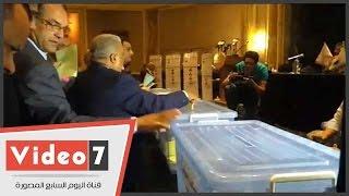 بدء عمليات التصويت على انتخاب أعضاء المكتب السياسى لائتلاف دعم مصر