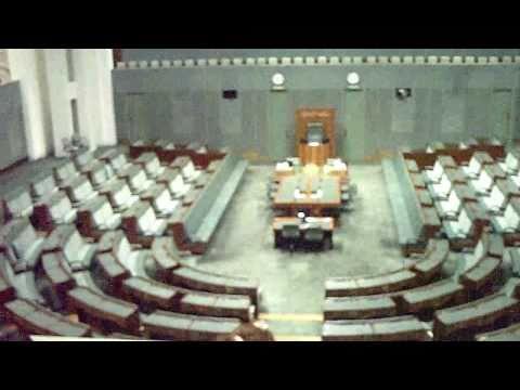 The New Australian Parliament Building Canberra Australia Feb 2011