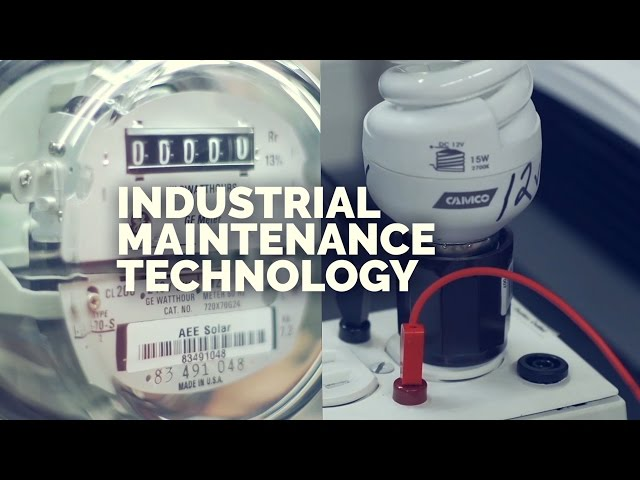 OTC Tech Ed Showcase - Industrial Maintenance Technology