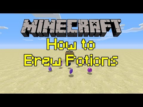 Minecraft Tutorial How To Brew Potions