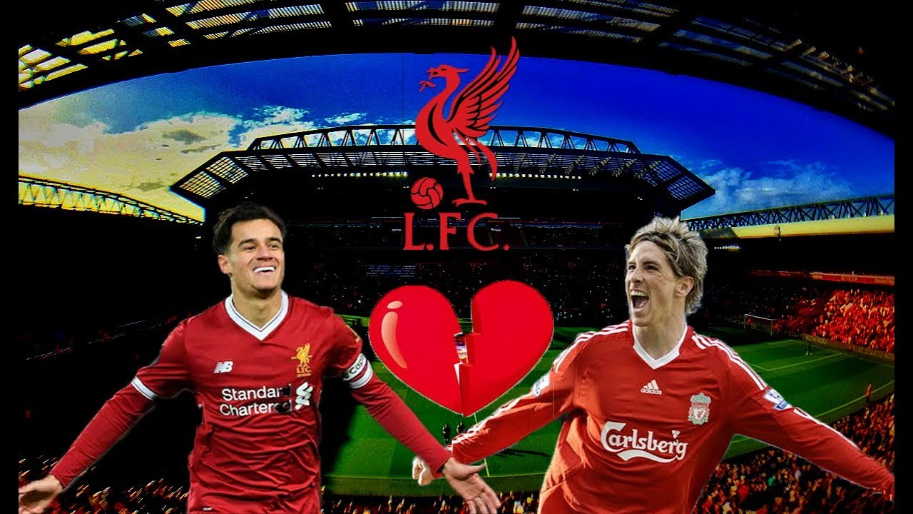 Football Romance : Torres , Coutinho and Liverpool