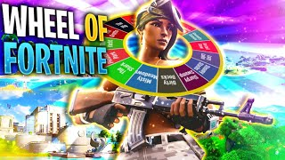 WHEEL OF FORTNITE CHALLENGE !! TI PREGO NON FARMI ATTERRARE ALLO SQUALO !!