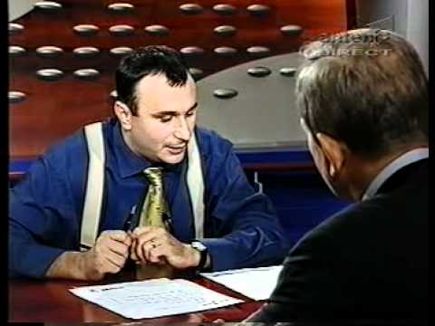 30.08.2000 - Theodor Stolojan, candidat PNL la Presedintia Romaniei