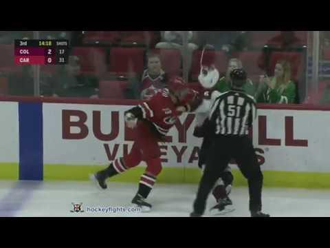 Erik Johnson vs Micheal Ferland Oct 20, 2018