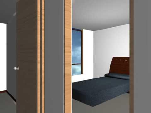 Vivienda de interes social vis estrato 2 3 doovi for Casa moderna minimalista interior 6m x 12 50m
