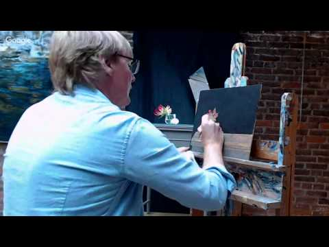 Colin Fraser Live Painting Demo at Principle Gallery