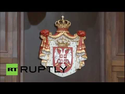 Serbia: Catherine Ashton commits to ending Ukraine crisis