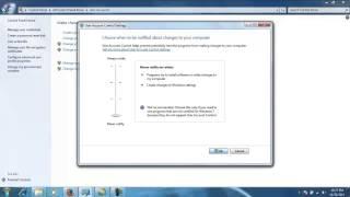 Thiết lập quyền cài đặt trên hệ điều hành Window 7, Windows 8 và Windows Vista