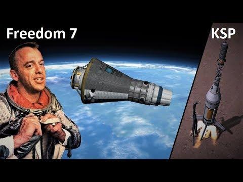 Space Race KSP - Mercury-Redstone 3 - Pure Stock Replicas
