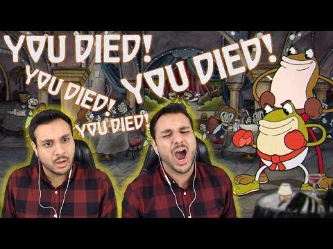 Let's Procrastinate With Cuphead PART 2 - RAGE WARNING!