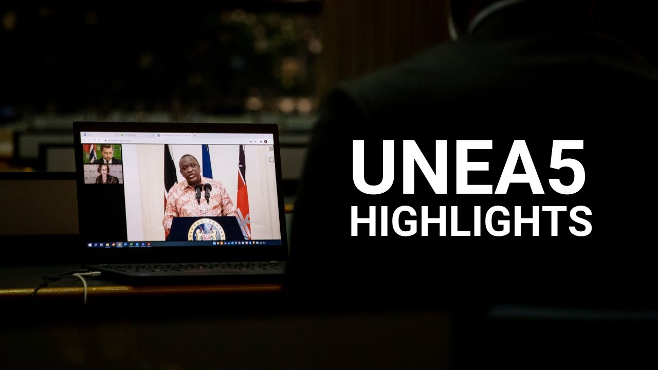 UN Environment Assembly 2021 Highlights