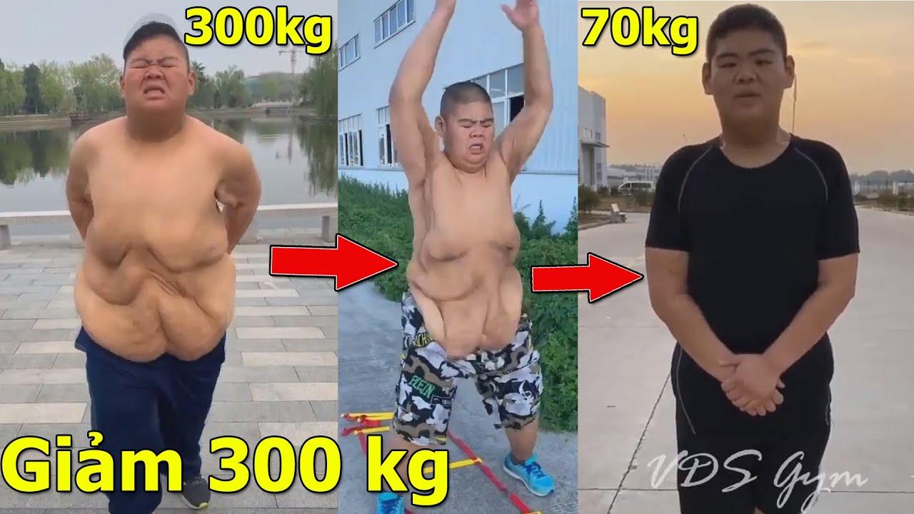 Cái Kêt Của Chàng Béo Trung Quốc Khi Giảm Gần 300 Kg | Không Gì là Không Thể !