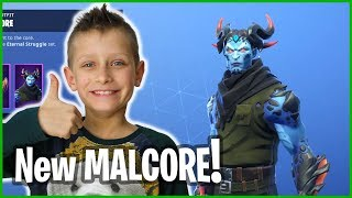 Testing Out New Malcore Skin in Team Mode!