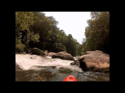Kayaking The Green River Narrows Saluda, NC 2012.wmv