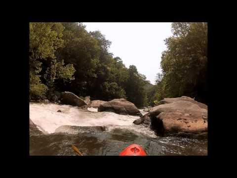 Kayaking The Green River Narrows Saluda, NC 2012.wmv